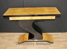 Art Deco Hall Table Z Shape Console Tables Design Interiors