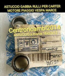 GABBIA A RULLI ASTUCCIO PER CARTER MOTORE  PIAGGIO VESPA APE PK XL 16X22X12