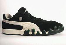 PUMA Suede Mens  Green Paint Drip Black Sneakers RARE US 12 UK 11 EUR 46 RARE