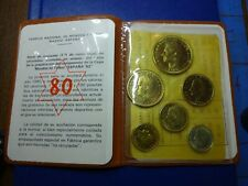 1976, 77, 79, and 1980 Fabrica National De Moneda Y Timbre Sets