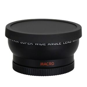 Universal 58mm 0.45X Wide Angle Lens and Macro Close Up For Canon