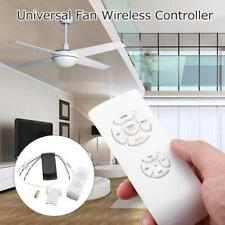 220V Ceiling Fan Lamp Light Wireless Remote Control Wind Speed Adjustment Timing
