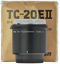 NIKON TC-20E II 2X téléconvertisseur-Coffret -