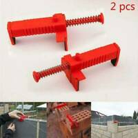 1 Pair Brick Liner Runner Leveling Measuring Tools Engineering For Masons L0L2