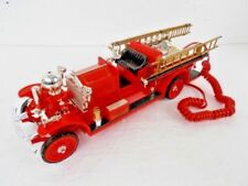 Firetruck Telephone The Ahrens Fox Fire Engine Company TeleMania EUC Tested