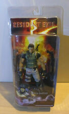 NEW AUTHENTIC NECA RESIDENT EVIL 5  CHRIS REDFIELD  7 INCH ACTION FIGURE (RARE!)
