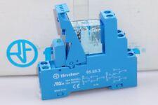 Finder Relais 49.52.9.024.0050 24VDC 8A 250V  Sockel 95.95.3 Freilaufdiode NEU
