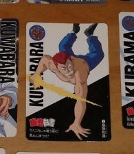 YUYU HAKUSHO CARDDASS CARD REG REGULAR CARTE 7 MADE IN JAPAN NM
