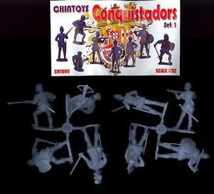 Chintoys 1/32 CONQUISTADORS Figure Set