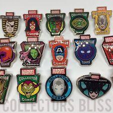 *RESTOCK* Funko Marvel MCC Collector Corps Exclusive Avengers & X-Men Pin Badges