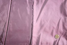 "35.5"" Inches Long - Purple 100% PURE SILK FABRIC 44"" WIDE Remnant `"