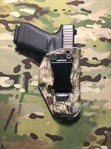 Kryptek Highlander Kydex AIWB Holster for Glock 19/23 w/adj. Retention