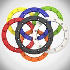 "Hiper Racing CF1 Tech 3 Rear Replacement 8 Inch 8"" Beadlock Wheel Ring Black"