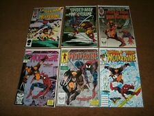 Spider-Man And Wolverine Various 7 Issue Comic Book Lot All First Prints