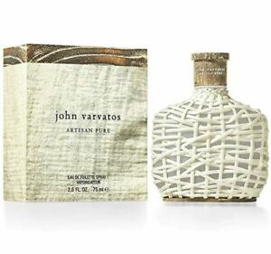 John Varvatos Artisan Pure 75ml EDT Mens 100% Genuine (New)