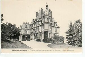 RILLY LA MONTAGNE - Marne - CPA 51 - cour du Chateau des Rozais ( Pommery )