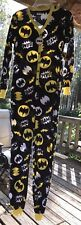 DC Comics Batman Footed Pajamas 1 PC NWT   Small