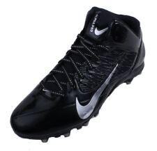 Nike Alpha Pro 3/4 TD Mens Black/Metallic Silver Mid Football Cleats size 10