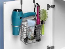 5Hair Dryer Holder Rack Straighteners Organizer Barber Salon Styling Storage New