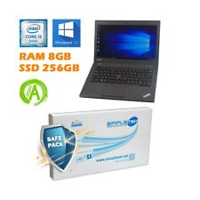 """NOTEBOOK LENOVO THINKPAD T450 I5 5300U 14"""" RAM 8GB SSD 256GB TASTIERA ITA."""