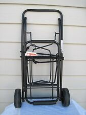 Vintage Conair Collapsible Luggage Cart Trolly Solid Metal 75 Lbs. Cap. UEC