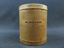 Vintage Merck Salicylic Acid USP X chemical bottle