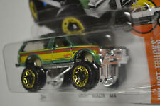 "Hot Wheels Chevy ""Free Shipping"" Blazer 4x4 Lift Candy Green Paint"