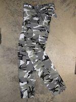 Pantalon BDU enfant  12 ans Armée US M65 camouflage Urbain urban treillis camo