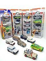 brand new Matchbox Jurassic World Complete collection set
