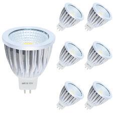 6er GU5.3 MR16 5W LED Lampen, 210LM,DC12V, Kaltweiß LED Birnen, LED Leuchtmittel