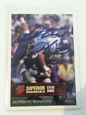 1994 Superior Rookies Authentic Signature Steve Shine, Bengals 1621/6000