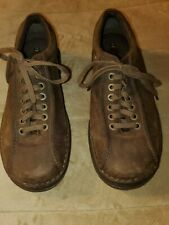 Dr Martens Perry Men Brown Leather Oxford Shoe Size 11M Pre-Owned
