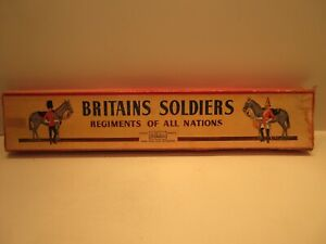 Vintage Britain's Royal Scots Grays 2nd Dragoons Toy Soldiers Models No 459993