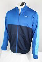 Oakley Men's Color Block Full Zip Track Jacket Size XL Snorkel Blue 472580