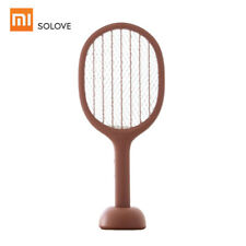 Solove P1 Electric Mosquito Swatter Insect Racket UV Zapper Repeller Z9L6[Red]