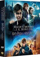 HARRY POTTER 8 FILM + ANIMALI FANTASTICI (9 DVD) BOX EDIZIONE SPECIALE