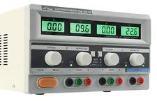 McPower Labornetzgerät Digi 302-03 2x 0-30V, 0-3A, Werkstatt Stromversorgung