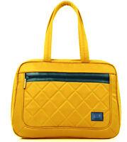 Fashion Women Handbag Ladies Yellow CrossBody Shoulder Bag Tote Laptop Briefcase