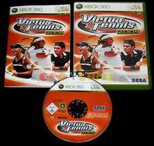 VIRTUA TENNIS 2009 XBOX 360 Versione Italiana 1ª Edizione ••••• COMPLETO