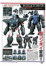 TAKARA TOMY TRANSFORMERS MP-32 CONVOY BEAST WARS OPTIMUS PRIMAL UK