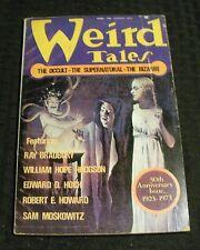 1973 Summer WEIRD TALES Pulp Magazine v.47 #1 VG+ 4.5 Ray Bradbury