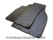 Audi Gummifussmatten A4 8E vorn Gummimatten Gummi Fußmatten Matten 2-tlg. NEU