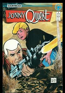 JONNY QUEST #1, COMIC COMICS, 1986, DOUG WILDEY, NM+ 9.6!