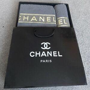 Chanel  towel sets