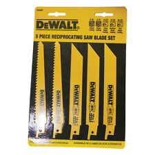Dewalt DW4857 Metal/Woodcutting Recip.Saw 5-Piece Blade Set