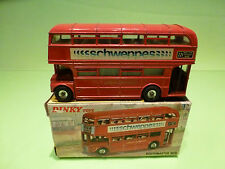 DINKY TOYS 289 ROUTEMASTER BUS - SCHWEPPES - VERY GOOD CONDITION IN BOX
