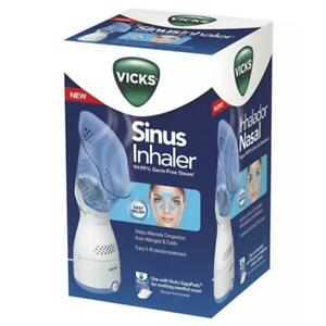 Vicks Personal Sinus Steam Inhaler with Soft Face Mask – Face Humidifier