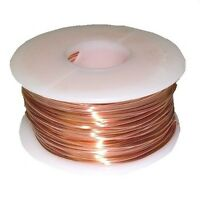 COPPER WIRE ON SALE 22 GA  2 LB HALF-HARD SPOOL SOLID  COPPER 1032FT