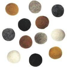 Dimensions Feltworks Earth Tone Balls - 062394