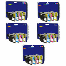 5 Sets of Compatible Printer Ink Cartridges for Brother DCP-J525W [LC1280]